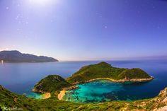 Porto Timoni, Afionas, Corfu, Greece ✯ ωнιмѕу ѕαη∂у