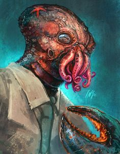 Why not Zoidberg – illustration par Tsabo6