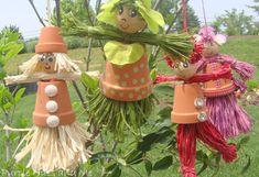 Fika a Dika - Por um Mundo Melhor: Bonecos de Vasos de Cerâmica