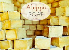 Aleppo soap can be u