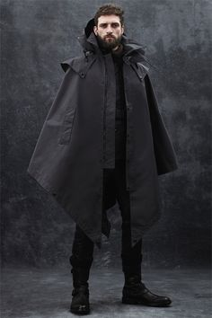 Belstaff Fall-Winter 2014... I like the uniqueness of this jacket.  Maybe in a different color & better fabric.  What are your thoughts?