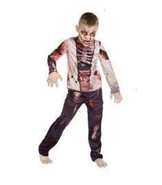 Costumi di Halloween per bambini, lo zombie - Costume da zombie per bimbo fai da te