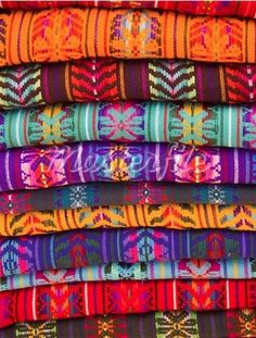Mexican Fabrics (hand stitched)