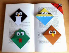 Przedszkolny Artysta: Zakładki do książek
