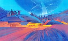 """Works from """"Syd Mead Progressions"""" exhibition - Car Body Design"""