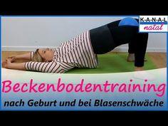 Rückbildung: Sanftes Beckenboden Training nach Geburt und bei Blasenschwäche - YouTube