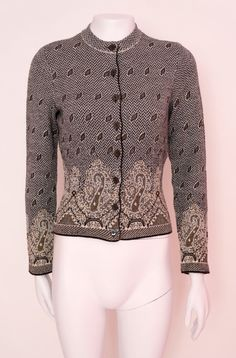 1edcfca830 Kenzo vintage jacket cardigan sweater kenzo Paris luxury vintage gift for  her cardigan sweater wool in grey size M