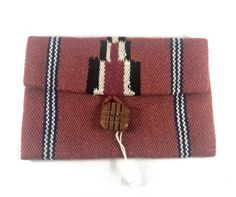 #Vintage #ElGrandee #Blanket Purse #FredHarvey #Chimayo #Wool #Clutch Pouch #Handmade #newmexico #newmexican