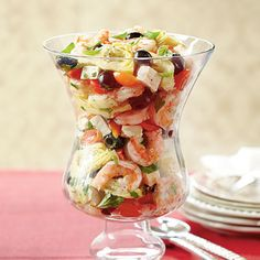 Marinated Shrimp-and-Artichokes