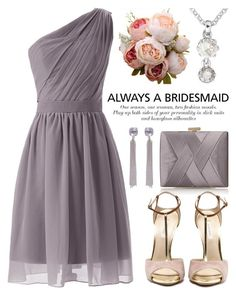 """""""Always a Bridesmaid 3433"""" by boxthoughts ❤ liked on Polyvore featuring La Regale, Ted Baker and alwaysabridesmaid"""