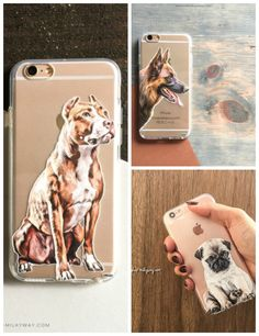 Clever German Shepherd Dog Snap-on Hard Back Case Phone Cover For Sony Mobile Phones Cell Phone Accessories