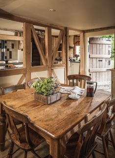 Pollyanna | Luxury Self-Catering Cottage | Birlingham, Cotswolds English Cottage Interiors, Rustic Home Interiors, Cotswold Cottage Interior, Cottage Living Rooms, Cottage Homes, Country Cottage Kitchens, Wood Cottage, Cottage In The Woods, Garden Cottage
