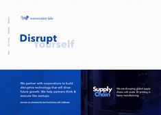 We partner with corporations to build disruptive technology that will drive future growth. We help partners think & execute like startups. Next Conference, Disruptive Technology, Creativity And Innovation, Website Design Inspiration, Customer Experience, Corporate Design, Web Development, Lab, Startups