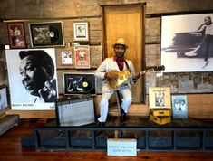 Mississippi's most influential musicians are also well represented throughout the museum. Great Stories, Mississippi, Musicians, Museum, Restaurant, Wall, Painting, Diner Restaurant, Painting Art