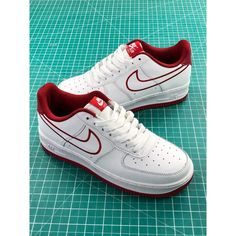 e9c8cd140972 New Colorway White Oriental Ted Line Nike Air Force 1 Low Sneakers