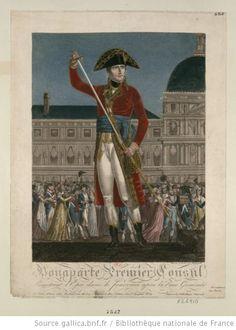 Bonaparte Premier Consul Remettant l'Epée dans le Fourreau après la Paix Générale : [estampe] - 1