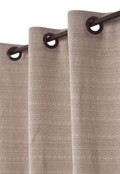 Cortina Quality Moda Casa Rustica 180cmx280cm Bege - Compre Agora | Dafiti Brasil