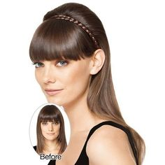 Hairdo Jessica Simpson And Ken Paves French Braid Band Synthetic Hairpiece