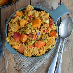 Kürbiscurry mit Couscous | Rezept | Weight Watchers