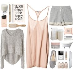 LAZY MONDAY MORNING, created by ladykrystal on Polyvore
