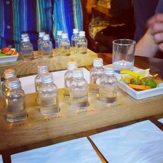 The London Gin Club has 160 gins and offers amazing 'tasting flights'!