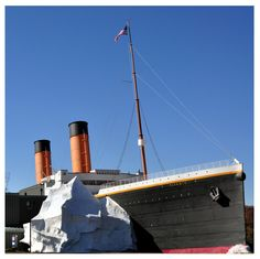 The Titanic Museum in Pigeon Forge - So many exciting and historic information in this attraction!