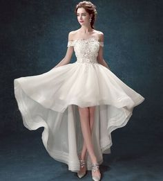 Slim spets Princess Bride ord axel oregelbunden svansen brudklänning 2015 nya