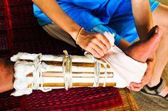 DIY Emergency Splints