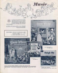 Filmic Light - Snow White Archive: 1972 UK Snow White Pressbook