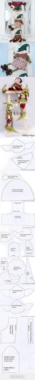 Tejer patrón para Navidad Novedad-cubre Tetera V31