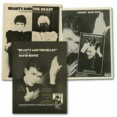 "David Bowie ""BEAUTY & THE BEAST"""