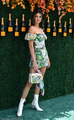 Leggy Kendall Jenner leads the pack at star-studded Polo Classic #dailymail