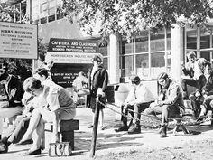 Vintage Richmond: VCU - Hibbs construction and Shafer Court - 1967