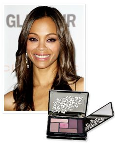 Find Your Perfect Purple Shadow: If you have brown eyes like #ZoeSaldana, look for shades with warmer tones. http://www.instyle.com/instyle/package/general/photos/0,,20574644_20570483_21120095,00.html