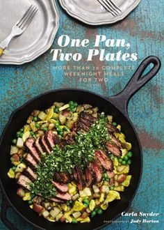 One Pan, Two Plates Book to cut down cooking time
