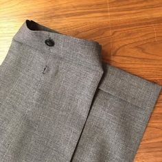 One of our favorite details of bespoke #ambrosi trousers is his addition of a button on the cuff —this allows you to quickly open it up and clean it :) (at The Armoury New York)