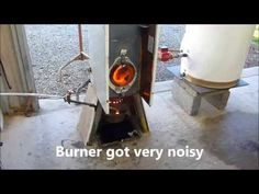 Waste oil boiler. Problems with water in fuel 2. - YouTube