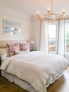 Feng Shui Your Bedroom- Can't sleep through the night? Try these feng shui principles in your bedroom to promote better rest, relaxation and relationships. Relaxing Master Bedroom, Dream Bedroom, Bedroom Wall, Bedroom Decor, Bedroom Furniture, Bedroom Modern, Bedroom Ideas, Serene Bedroom, White Bedroom