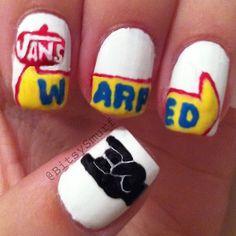 Warped Tour Nails