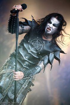 Shagrath at Hellfest