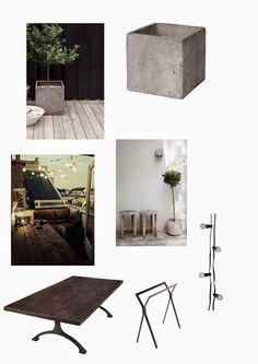 Hitta hem - Inspiration till din uteplats av Alicia Sjöström Interior Design Inspiration, Gardens, Houses, Decoration, Homes, Decorating, Garden, Decor, Embellishments