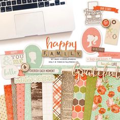 #happyfamilies are one of life's most precious gifts. I created this collection to coordinate with the October 2015 #TDPspecialedition @thedigitalpressco and its 50% Off now through 10/04/2015. http://ht.ly/SWzss #teamdigitalpress #TDPinspire #memorykeeping #scrapbooking #scrapbook #digitalscrapbooking #hybridscrapbooking #marikoegelenberg #marikoegelenbergcreations