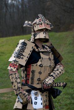 cardboard samurai: on Deviant Art