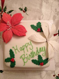 Another Christmas birthday cake