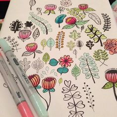 eighterasers:  Doodling