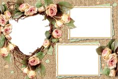 Flower Picture Frames, Picture Frame Decor, Svg Shapes, Foto Frame, Invitation Maker, Beautiful Love Pictures, Victorian Photos, Certificate Design, Frame Template