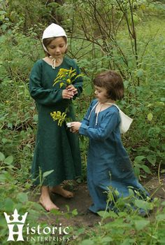 Gown, Early Medieval, Childrens', Linen