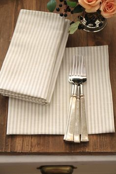 Classic Line Napkins - love these for everyday.