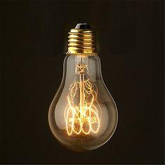 40w+2700k+cru+edison+ampoule+a19+moyen+style+filament+antique+ampoules+à+incandescence+(AC220-240V)+–+EUR+€+4.40