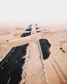 Sand storm in Abu Dhabi.